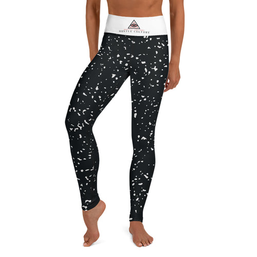 [ VISIONARY HUSTLE ] SPACE JAM YOGA LEGGINGS - Hustle Culture | Official Store