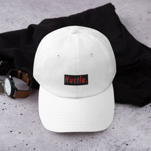 Load image into Gallery viewer, Hustle. Classic Dad Hat [ RED/BLACK ]