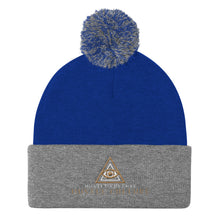 Load image into Gallery viewer, [ VISIONARY HUSTLE ] VIP BALL-KNIT CAP TRIPPY GOLD EDT. - Hustle Culture | Official Store