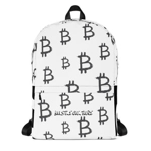 """BITCOIN BAG"" HUSTLE. BACKPACK - Hustle Culture 