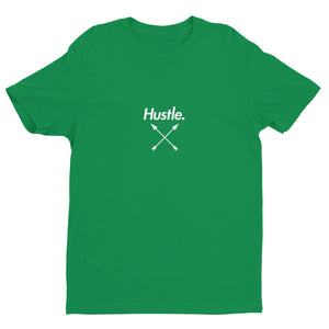 """CHAMP"" HUSTLE. PREMIUM FITTED T-SHIRT - Hustle Culture 