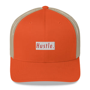 Hustle. Trucker Cap [ RED/WHITE ]