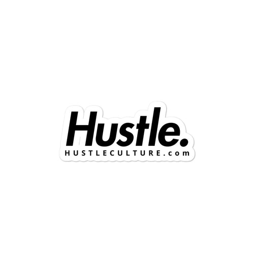 HUSTLE.® STICKER 1.0 - Hustle Culture | Official Store