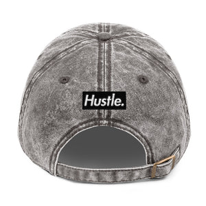 "[ HUSTLE. ] ""MIDNIGHT OIL"" VINTAGE DAD HAT - Hustle Culture 