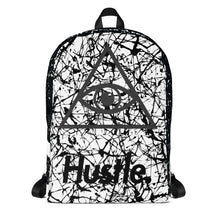 "Load image into Gallery viewer, ""CITY NEVER SLEEP"" HUSTLE. BACKPACK - Hustle Culture 