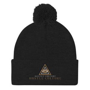 [ VISIONARY HUSTLE ] VIP BALL-KNIT CAP TRIPPY GOLD EDT. - Hustle Culture | Official Store