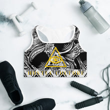 Load image into Gallery viewer, [ VISIONARY HUSTLE ] TRIBE SPORTS BRA - Hustle Culture | Official Store