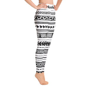 """AZTEC"" HUSTLE. LEGGINGS - Hustle Culture 