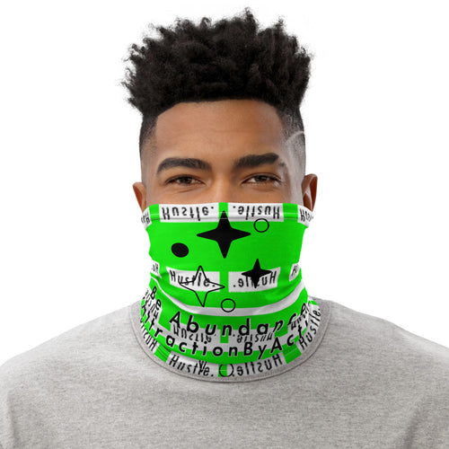 Hustle. Face Mask [ NEON ENERGY ]