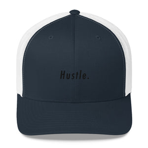 Hustle. Trucker Cap [ SMOKED OUT ]