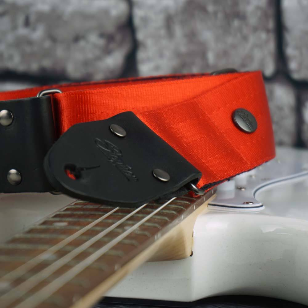 Seatbelt Gitarrengurt Cruiser Red