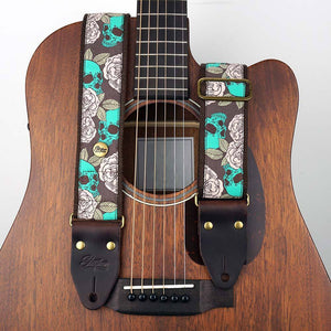 Jacquard Gitarrengurt Emerald Pirate