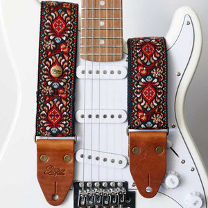 Retro Gitarrengurt Hippie Love