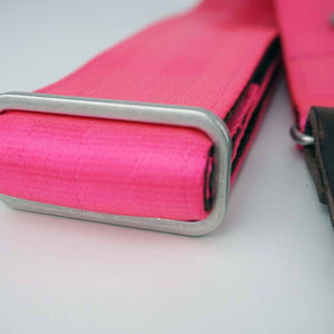 Seatbelt Gitarrengurt Cruiser Pink