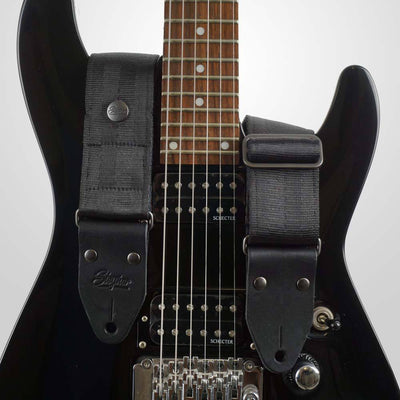 Seatbelt Gitarrengurt Cruiser Deep Black