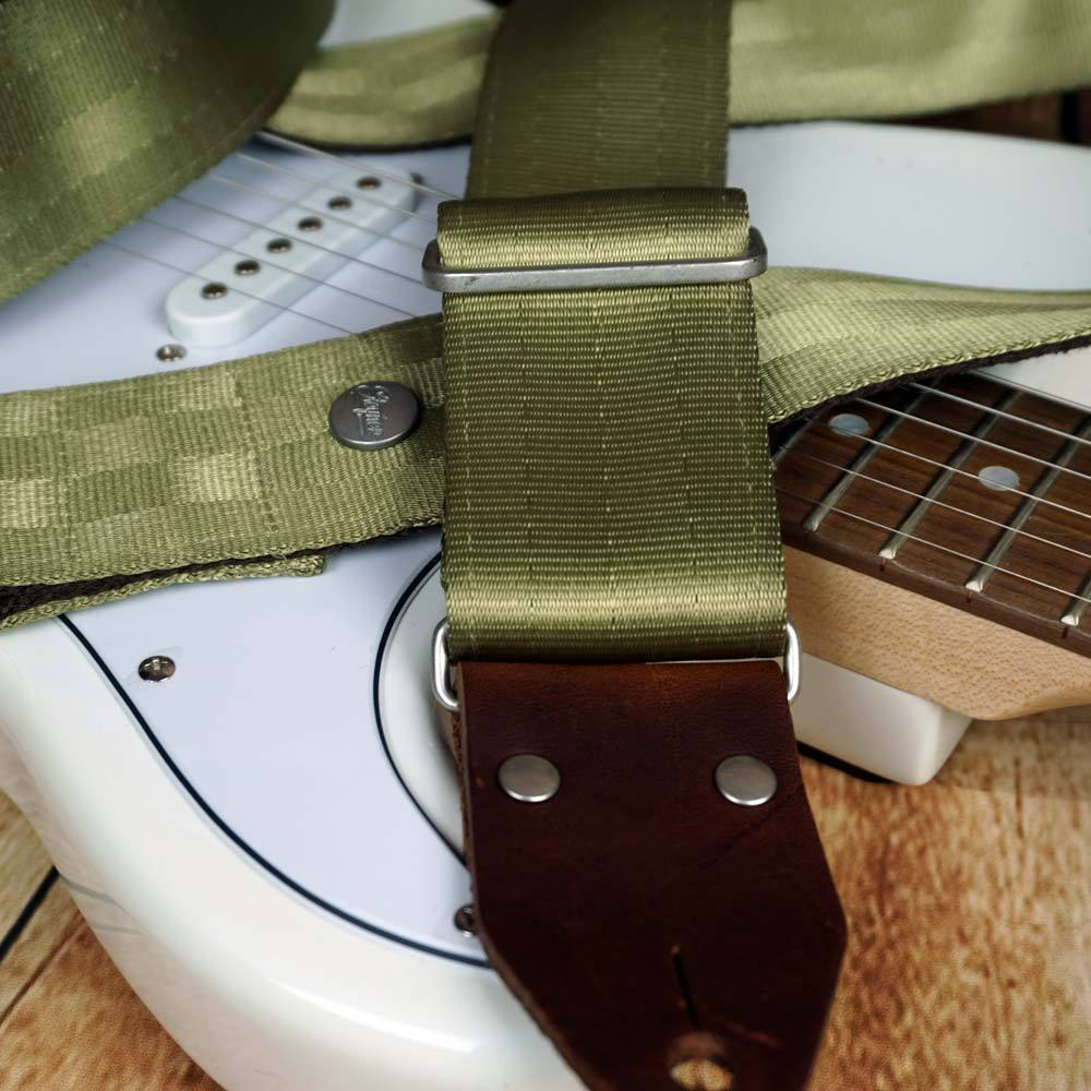 Seatbelt Gitarrengurt Cruiser Lime