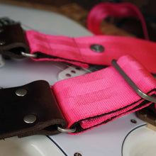 Load image into Gallery viewer, Pink Guitar Strap - Cruiser Pink
