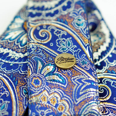 Paisley Gitarrengurt blau – Indian Ocean