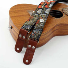 Laden Sie das Bild in den Galerie-Viewer, Vintage Ukulelengurt Custom