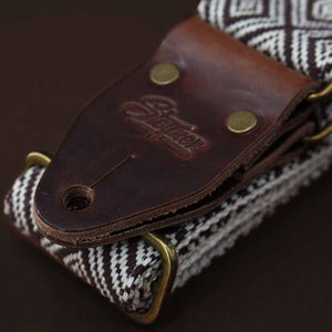 Guitar Strap - Ethno Brown Deluxe