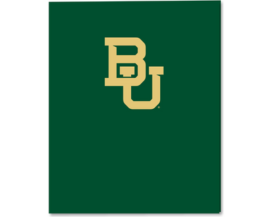 Baylor University 2 Pocket Folder
