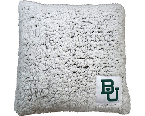 Baylor University Frosty Throw Pillow