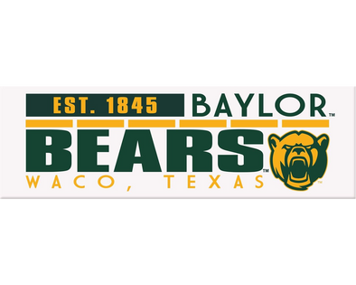 Baylor University 1.62x5 Billboard Magnet