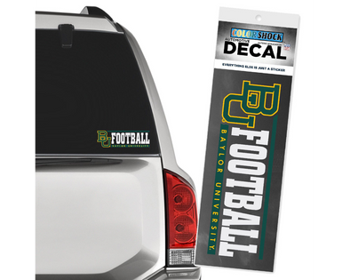 Baylor University Football Decal