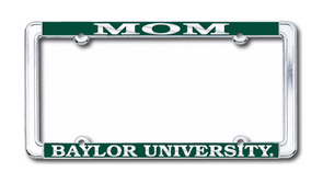 Baylor University Mom Strand Art License Plate Frame
