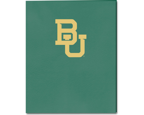 Baylor University Folder 2 Pocket