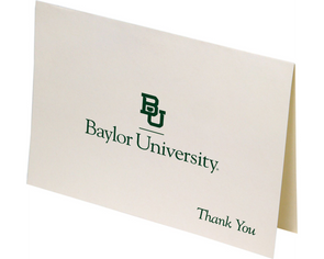 Baylor University Thank You Notevards 10-Pack