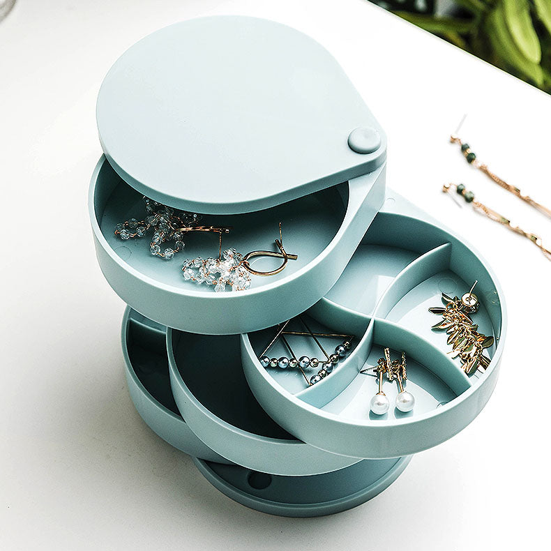 360° Rotating Jewelry Box