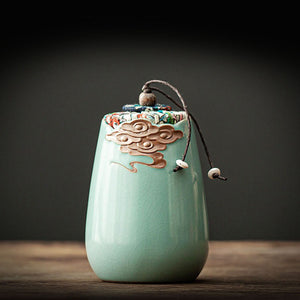 Ceramic Tea Canister