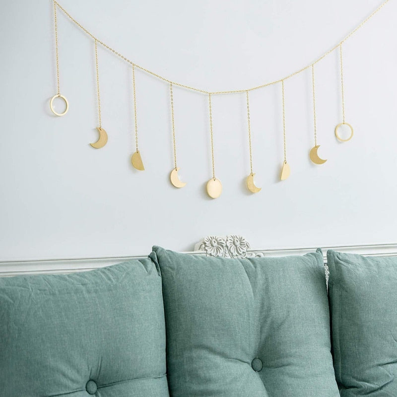 Moon Phase Hanging Decor