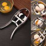 Stainless Steel Egg Cracker