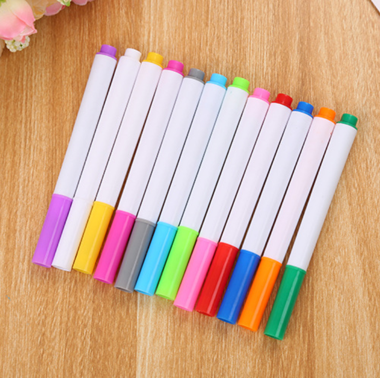 12 Colored Pens Set