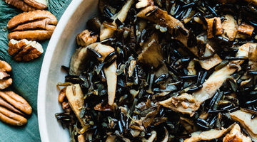 Wild Rice and Wild Mushrooms
