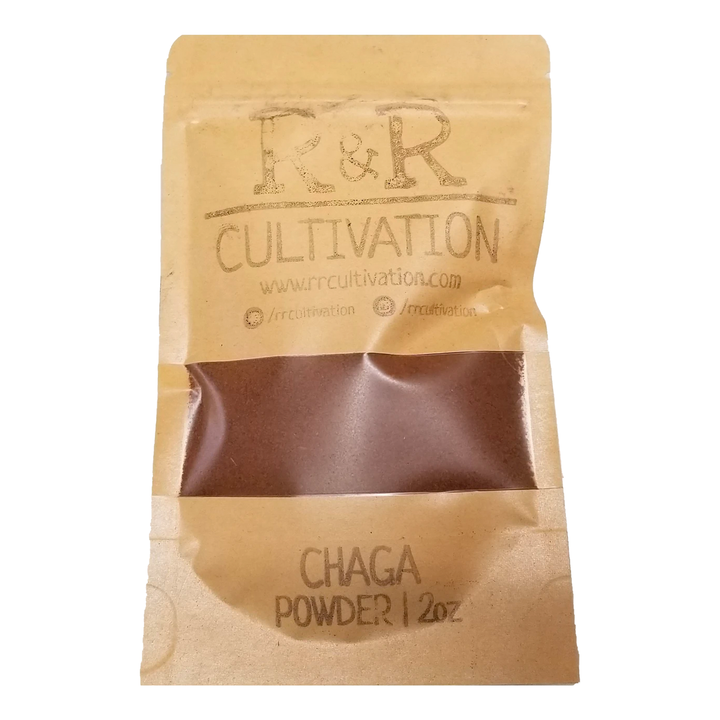 Chaga Powder | Fresh Organic Mushrooms | Roseville, MN | R&R Cultivation