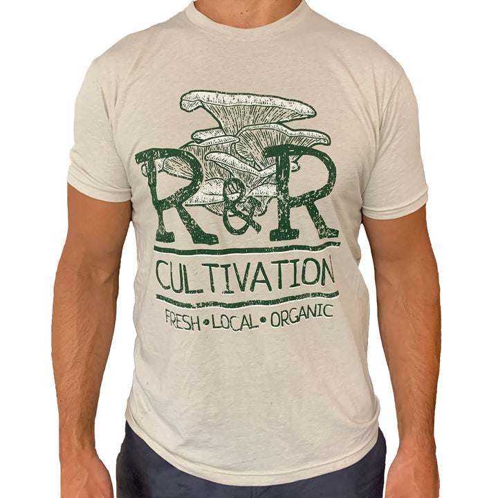 R&R Cultivation T-Shirt | Fresh Organic Mushrooms | Roseville, MN | R&R Cultivation