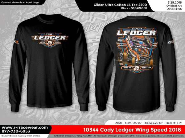 Cody Ledger 2018 Black Long Sleeve