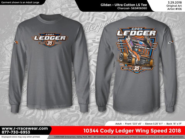 Cody Ledger 2018 Grey Long Sleeve