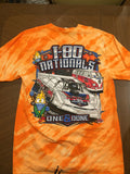 I-80 Nationals Orange Tye Dye T-shirt