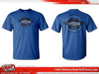 "Malvern Bank Series ""Race For The Safe"" Logo Tee."
