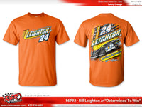 "Bill Leighton Jr. 2020 ""Determined To Win"" T-shirt"