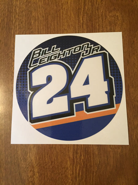 "Bill Leighton Jr. 2019 5"" Decal"