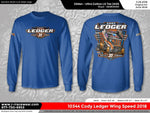 Cody Ledger 2018 Blue Long Sleeve