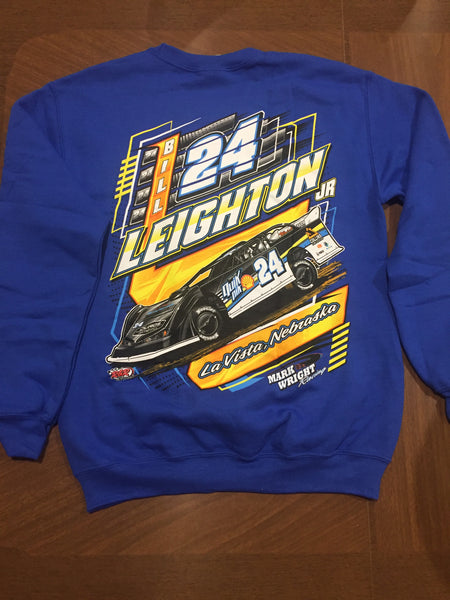 "Bill Leighton Jr. 2020 ""Determined To Win"" Crew Neck Sweatshirt"