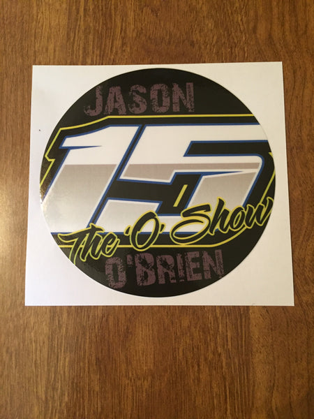 "Jason O'Brien 2019 5"" Decal"