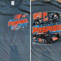 Tad Pospisil 2020 Grey T-shirt
