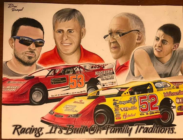 Kosiski Family Custom Print